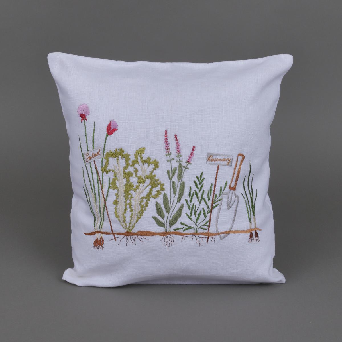 Pillowcase with embroidery. Photo №1. | Narodnyi dim Ukraine