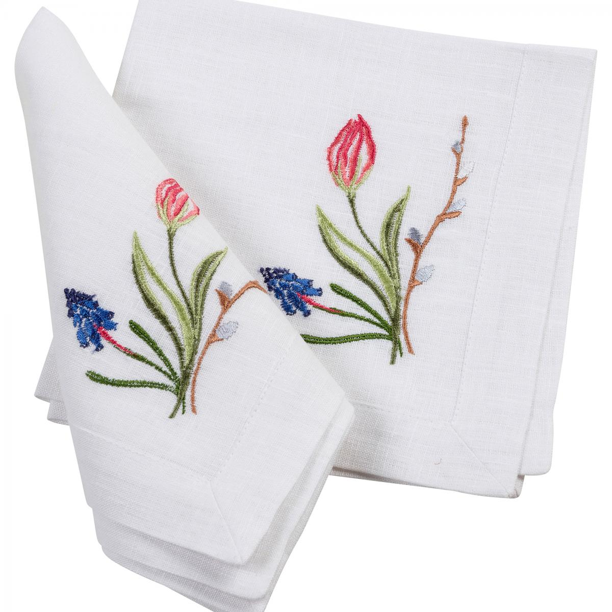 """Napkin for the table """"Tulips"""""""