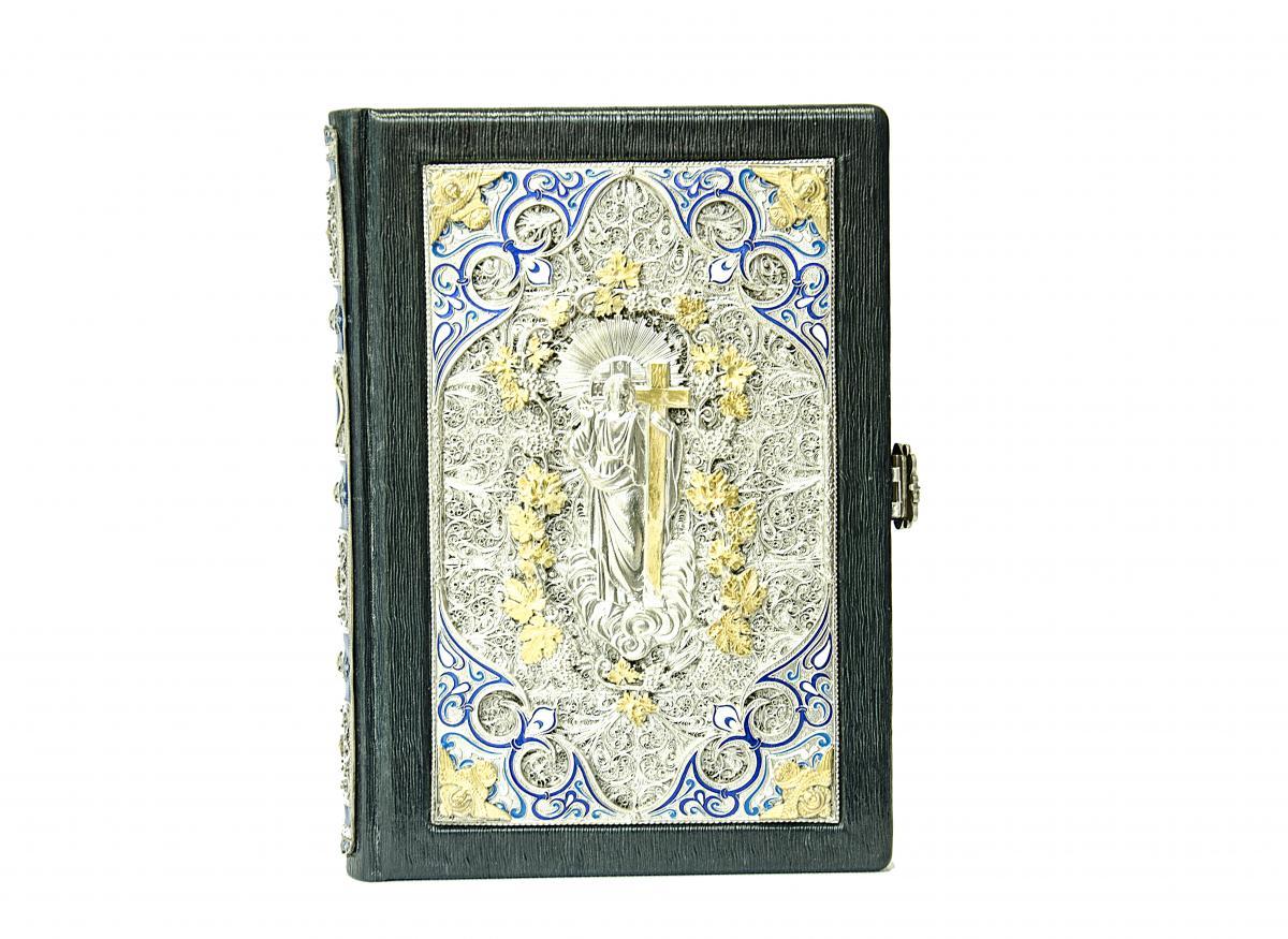 Эксклюзивная Библия в кожаном переплете. Фото №3. | Народный дом Украина