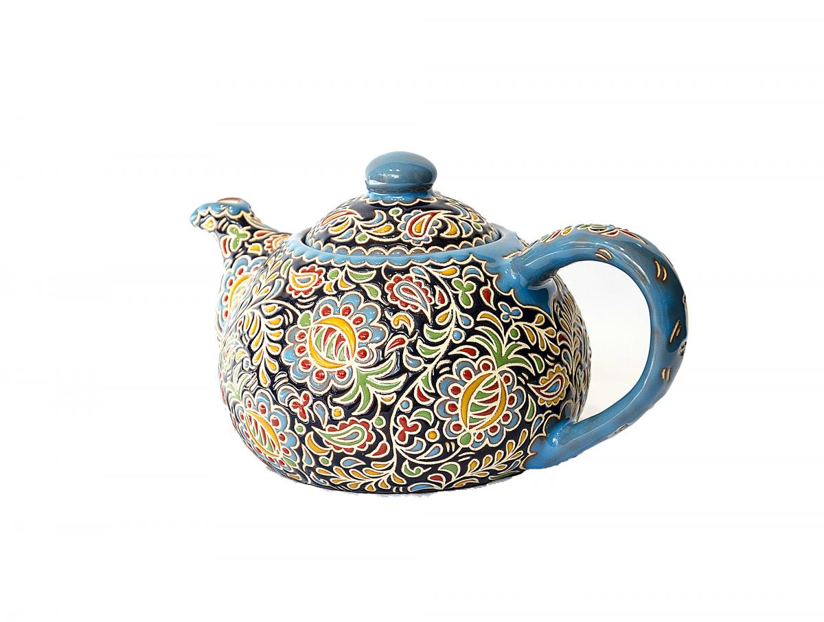 Teapot from the ceramics of author's work. Photo №1. | Narodnyi dim Ukraine
