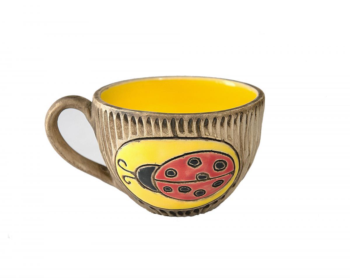Чашка с божьей коровкой. Фото №1. | Народный дом Украина