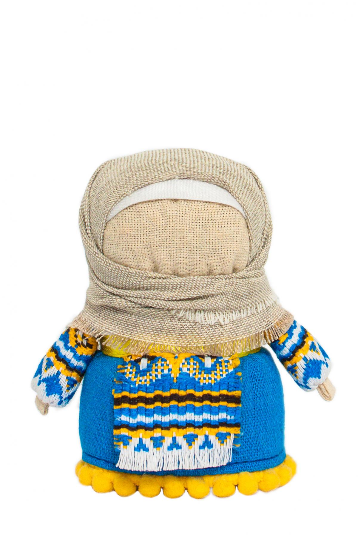 Кукла Зернянка синяя (на достаток). Фото №1. | Народный дом Украина