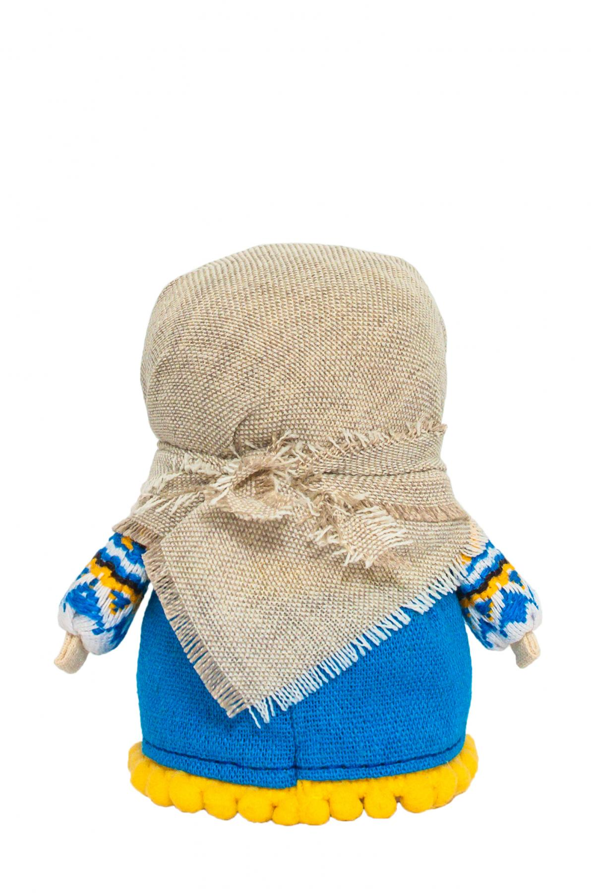 Кукла Зернянка синяя (на достаток). Фото №2. | Народный дом Украина