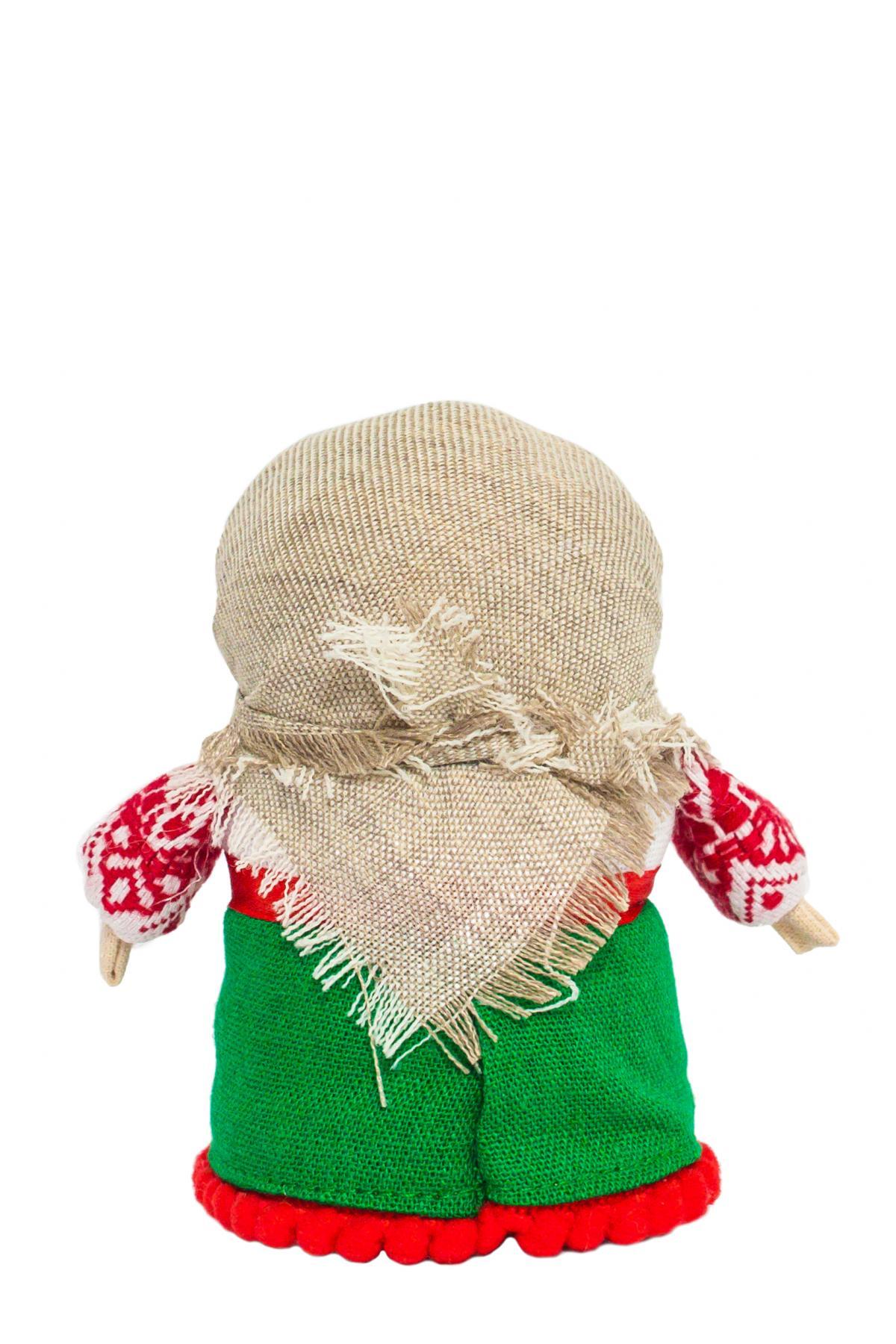 Кукла Зернянка зеленая (на успех). Фото №2. | Народный дом Украина