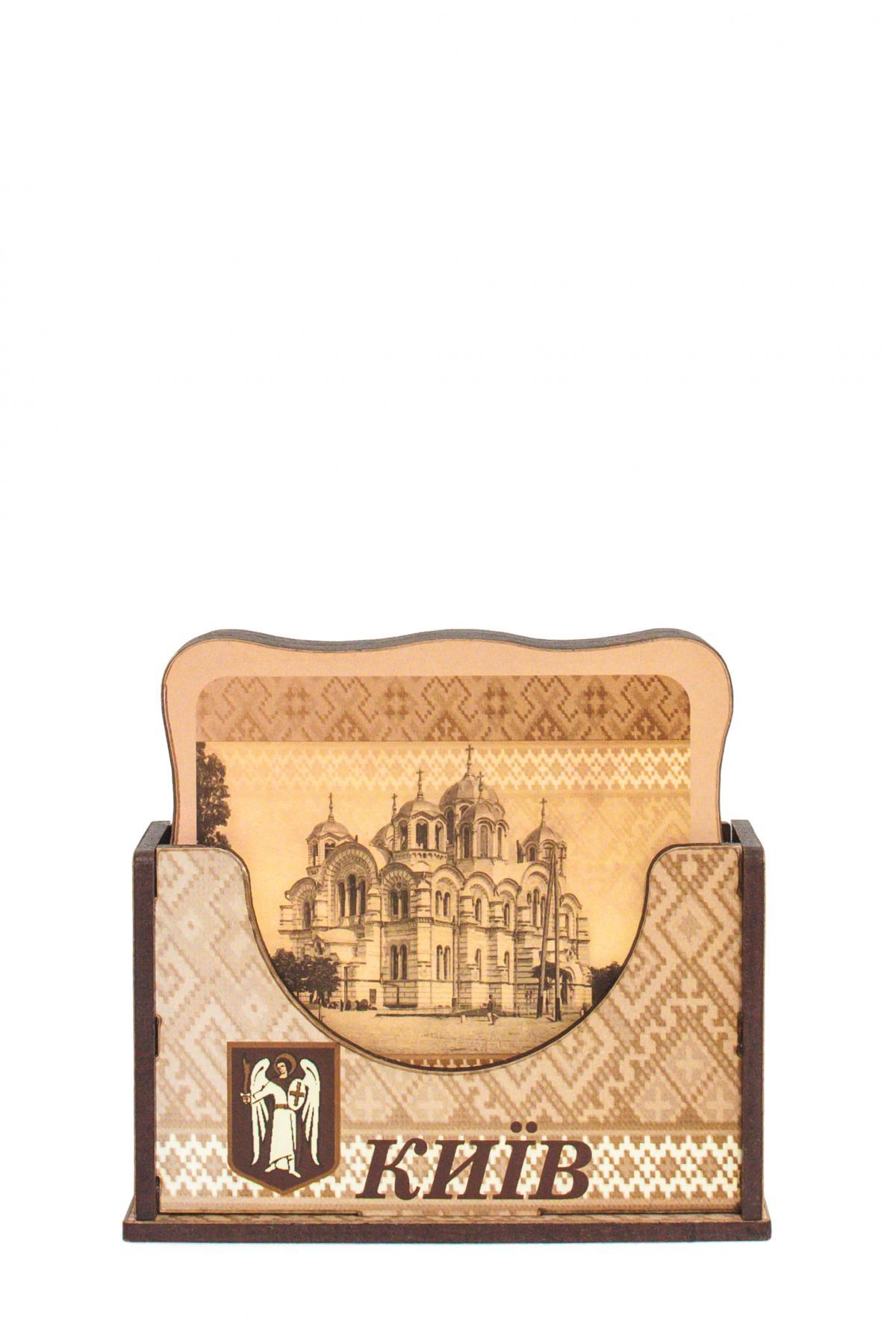 Набор костеров с выдающимися достопримечательностями Киева №2