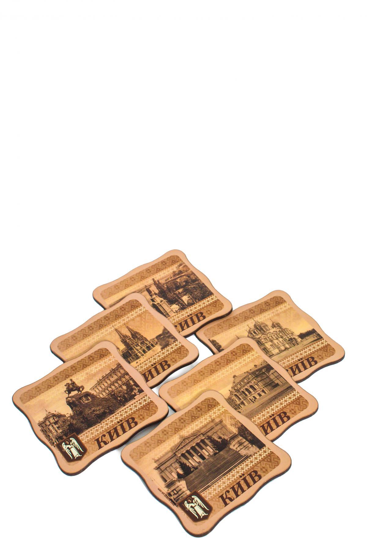 Набор костеров с выдающимися достопримечательностями Киева №2. Фото №2.   Народный дом Украина
