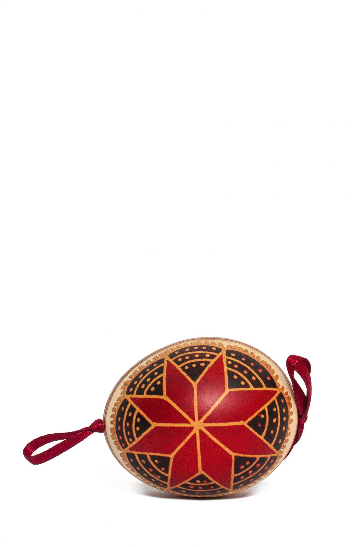 Pysanka of a natural egg. Photo №1. | Narodnyi dim Ukraine