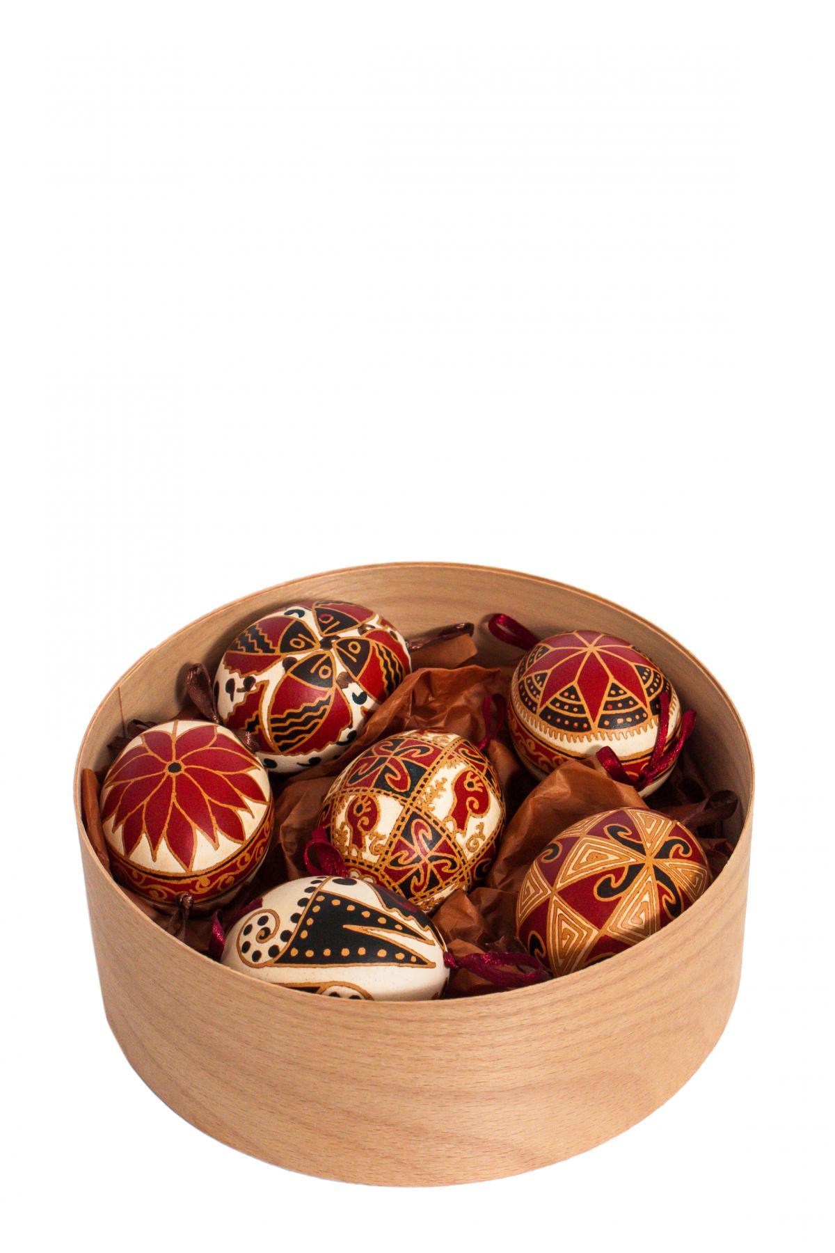 Набор писанок з натурального яйця. Фото №2. | Народный дом Украина