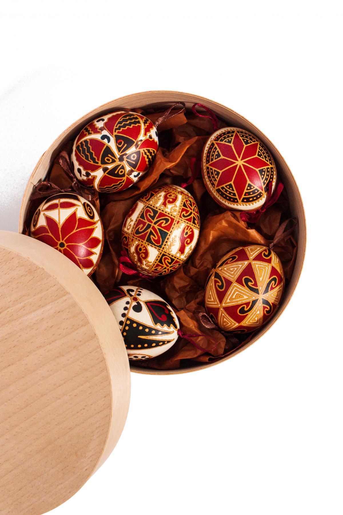 Набор писанок з натурального яйця. Фото №3. | Народный дом Украина