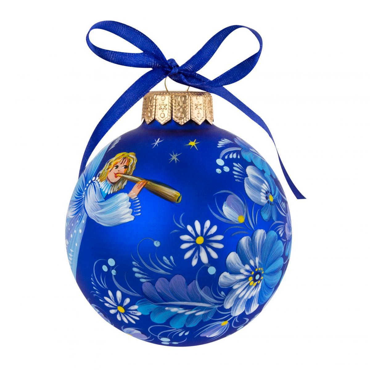 Елочный шарик. Фото №2.   Народный дом Украина