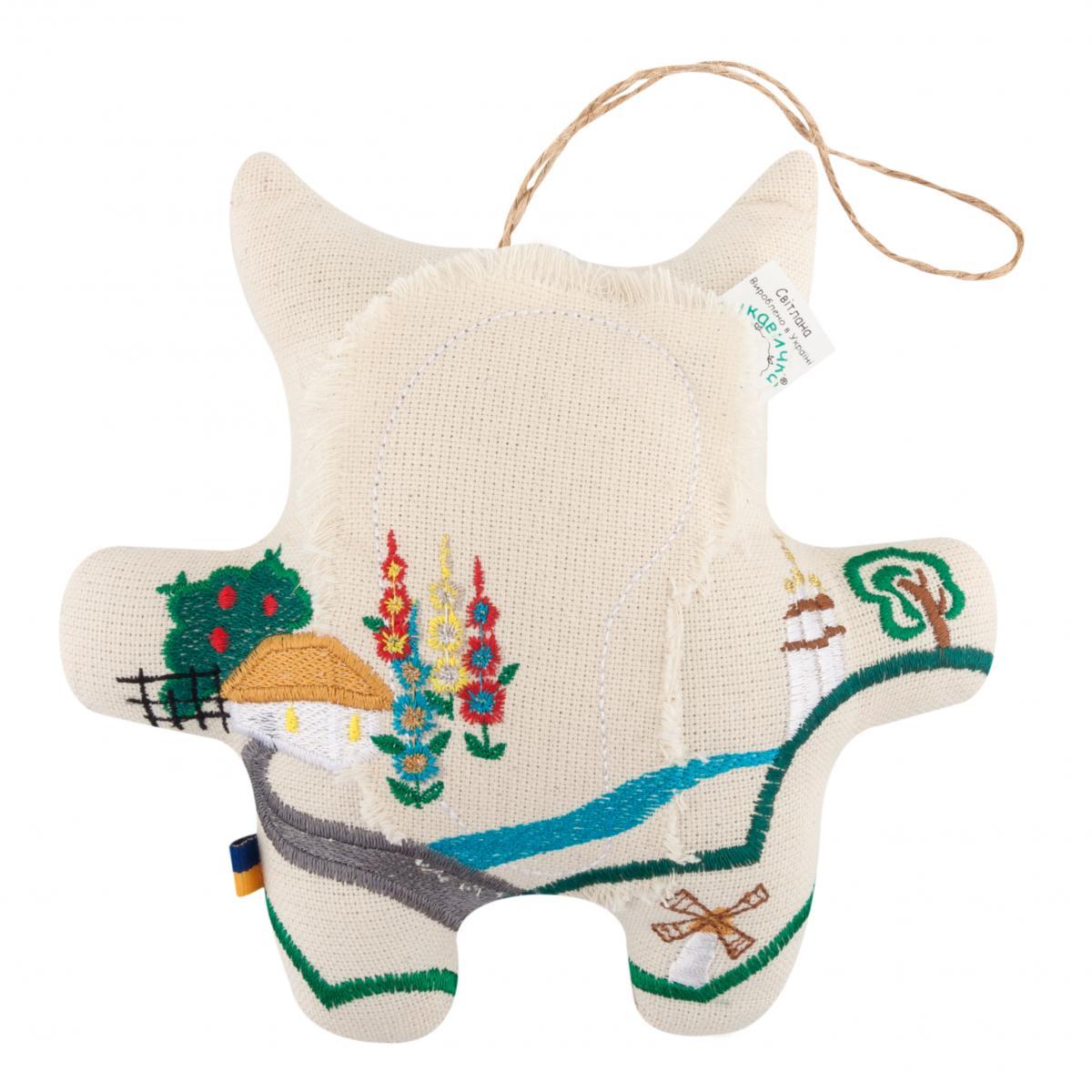 Игрушка Кот с вышивкой. Фото №2. | Народный дом Украина