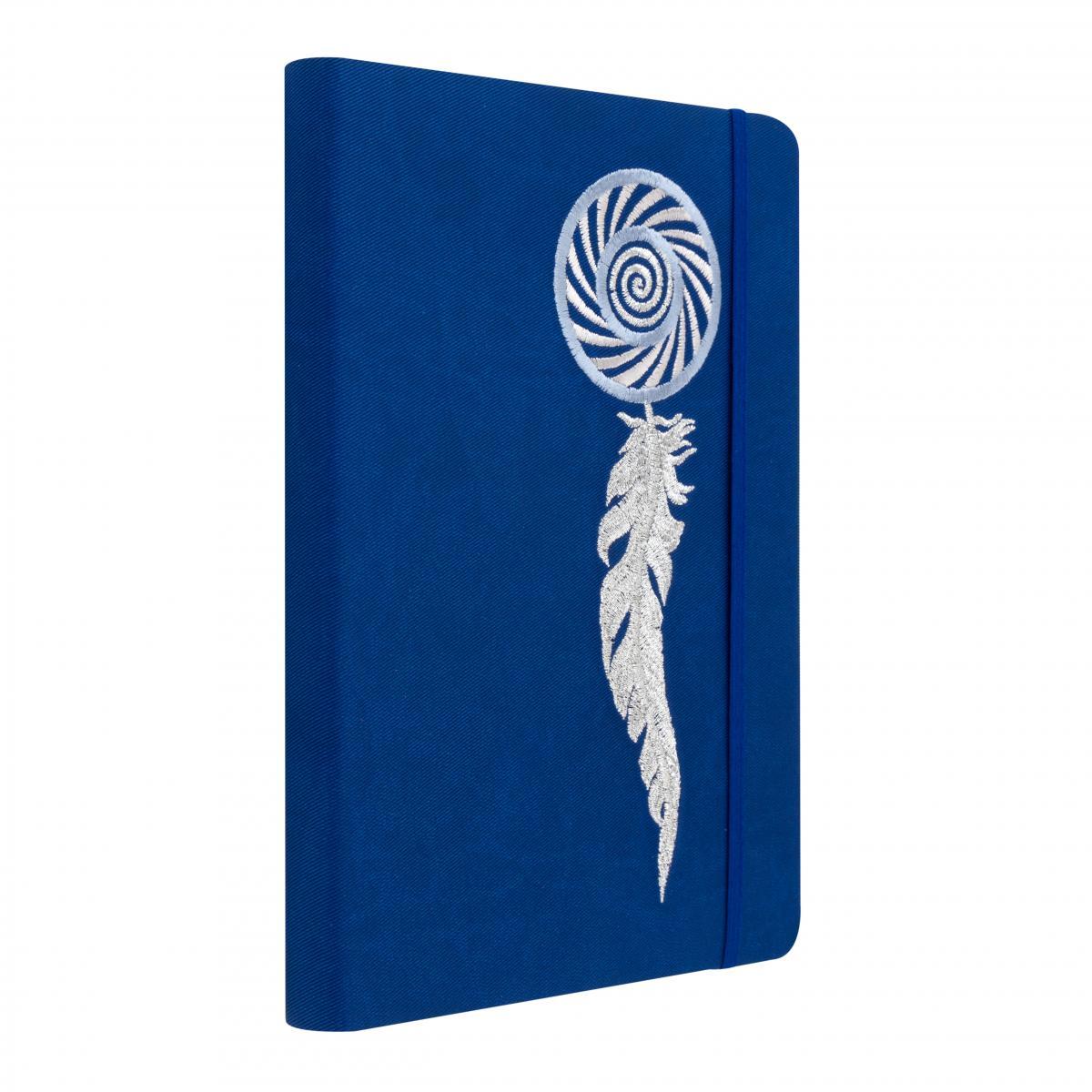 Синій блокнот з вишивкою. Фото №2. | Народний дім Україна