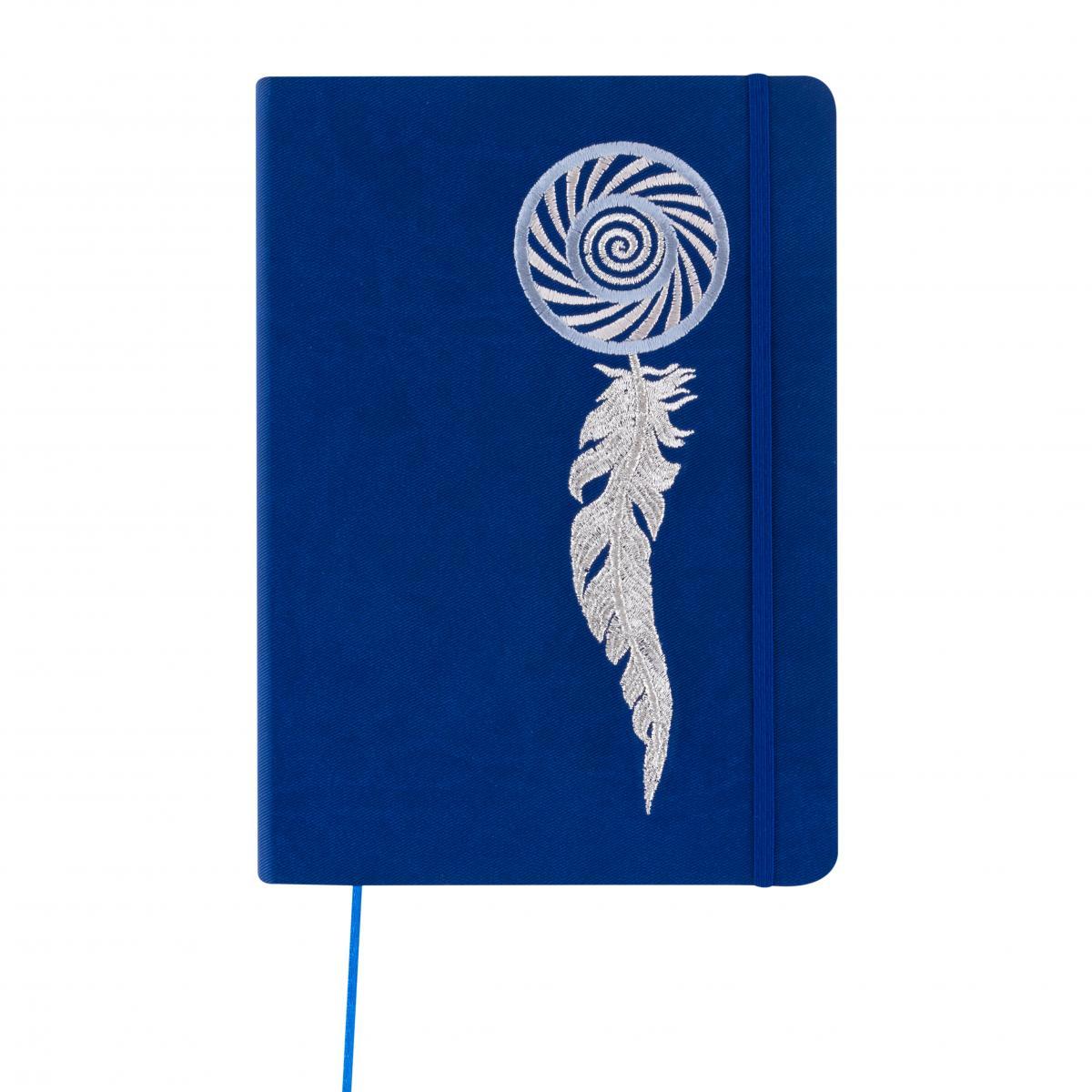 Синій блокнот з вишивкою. Фото №1. | Народний дім Україна