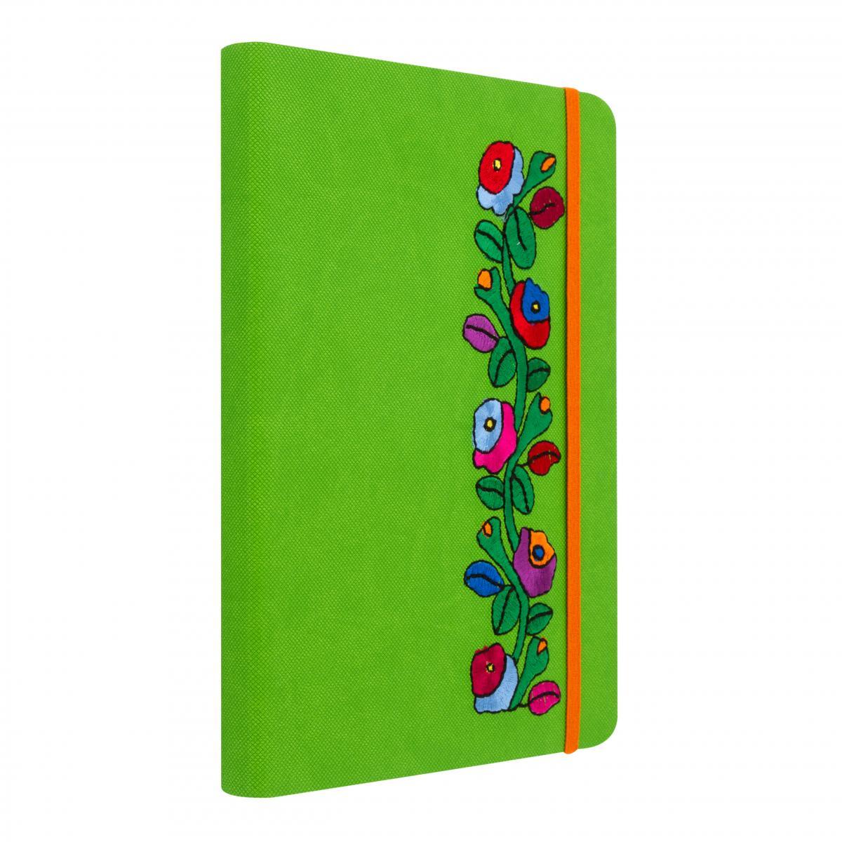 Зеленый блокнот с вышивкой. Фото №2. | Народный дом Украина