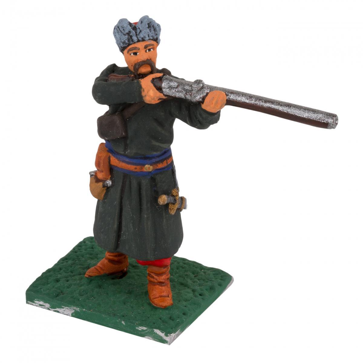 Фигурка человека с винтовкой. Фото №2. | Народный дом Украина