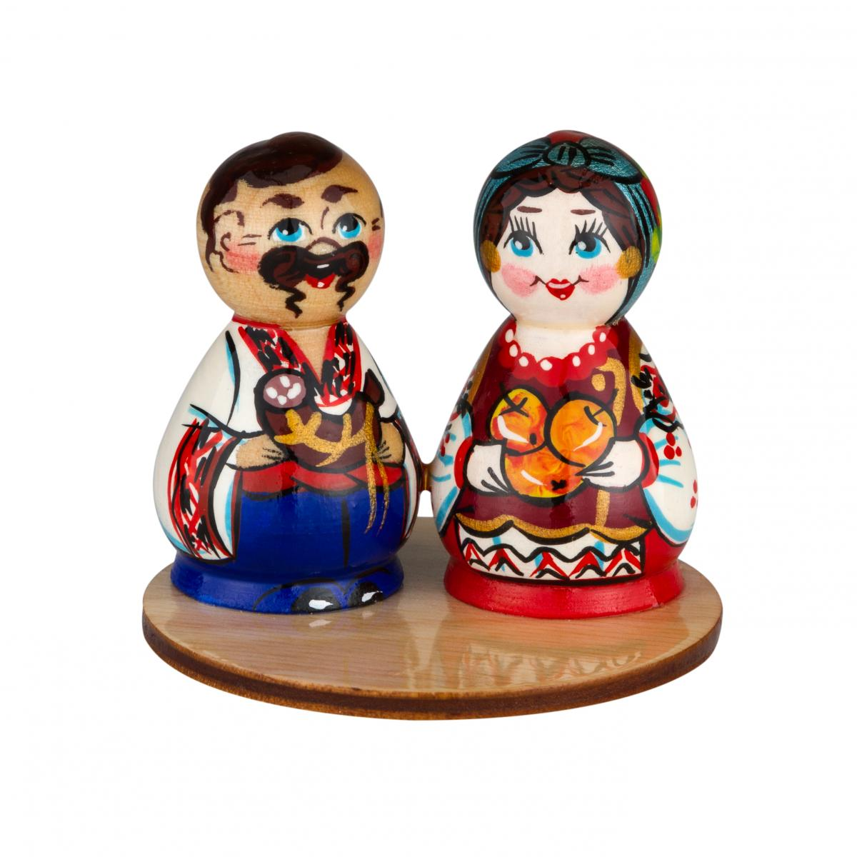 "Decorative statuette ""Pair"" (medium). Photo №1. 