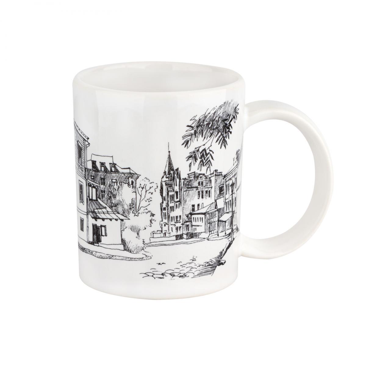 Чашка с Андреевским спуском – 150 мл. Фото №1. | Народный дом Украина