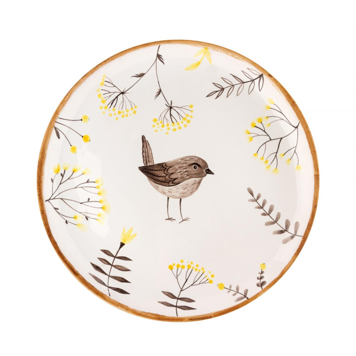 Plate with a bird. Photo №1. | Narodnyi dim Ukraine