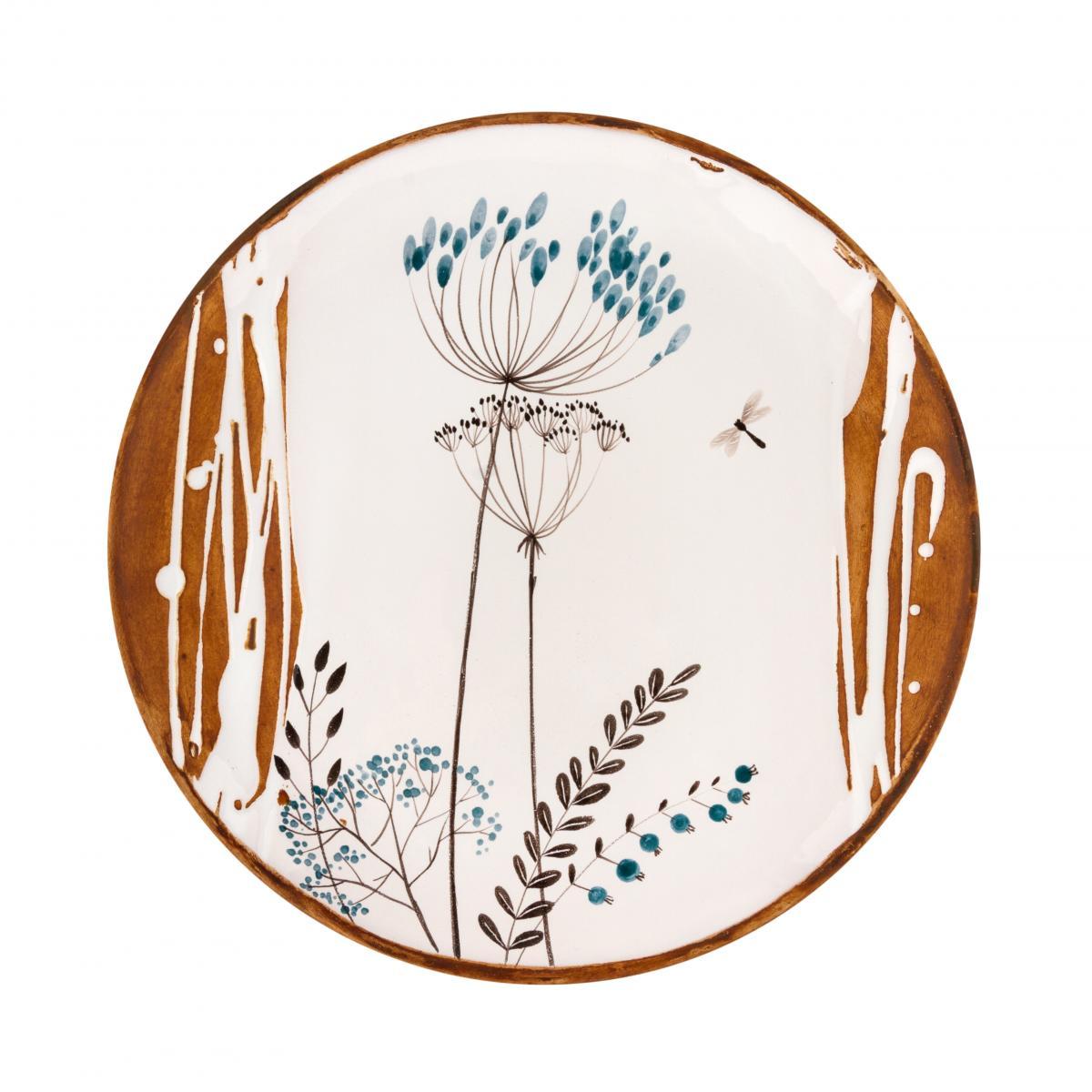 Тарелка с бабкой и укропом. Фото №1. | Народный дом Украина