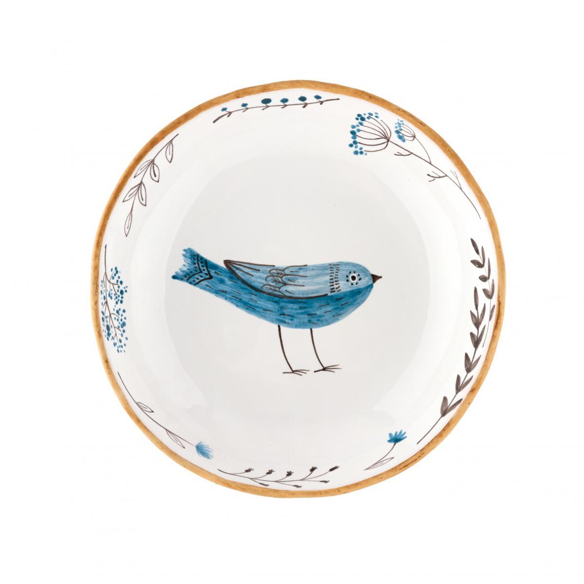 Тарелка с ласточкой