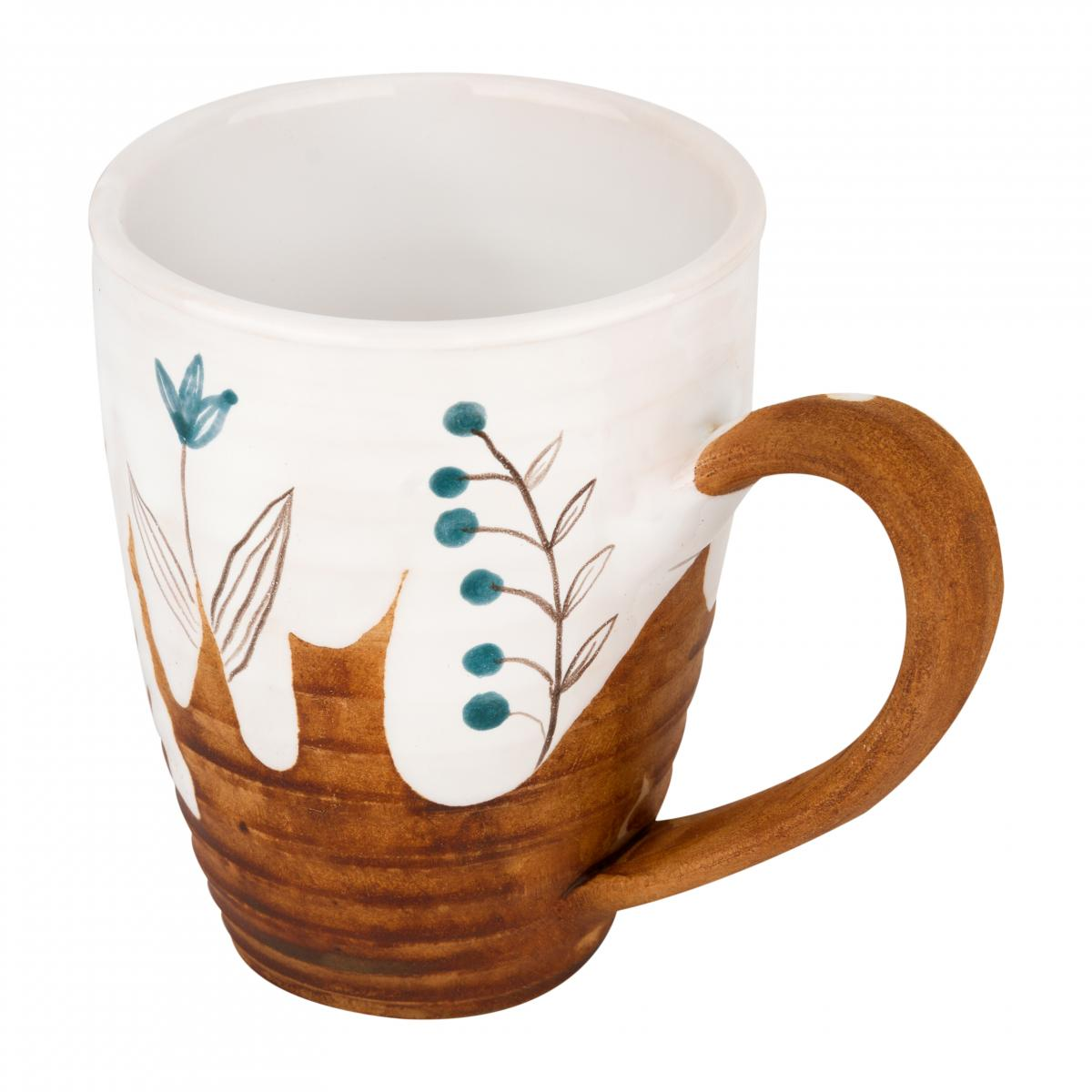 Cup with blue flowers. Photo №2. | Narodnyi dim Ukraine