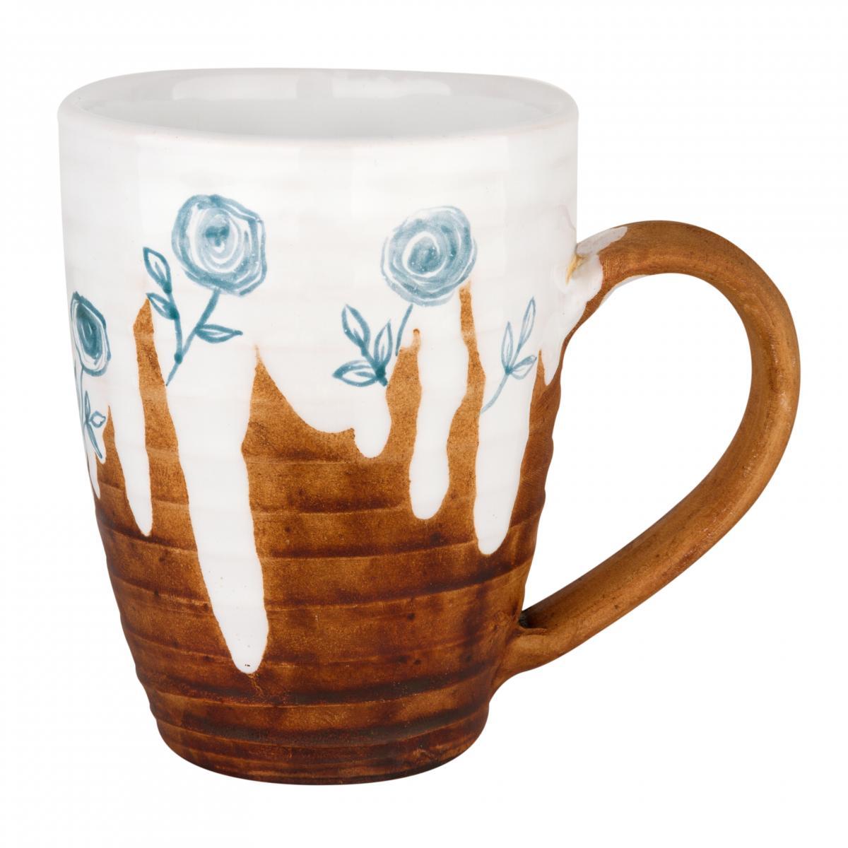 Чашка с голубыми пионами. Фото №1. | Народный дом Украина