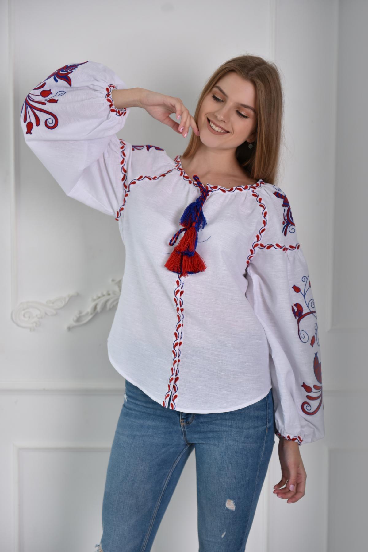 Вишиванка Птицы. Фото №2. | Народный дом Украина