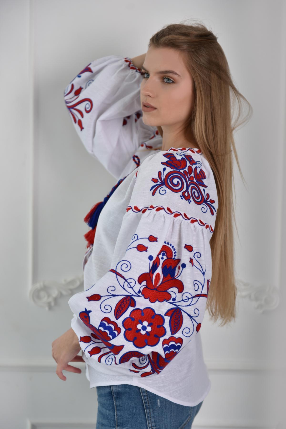 Вишиванка Птицы. Фото №1. | Народный дом Украина
