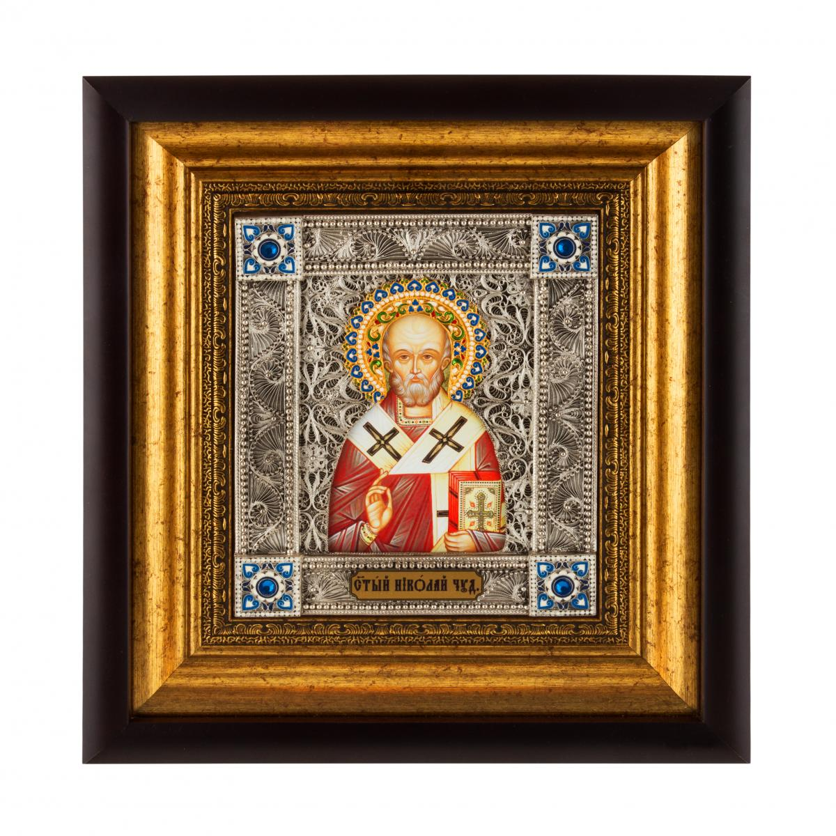 Icon of St. Nicholas the Wonderworker. Photo №1. | Narodnyi dim Ukraine