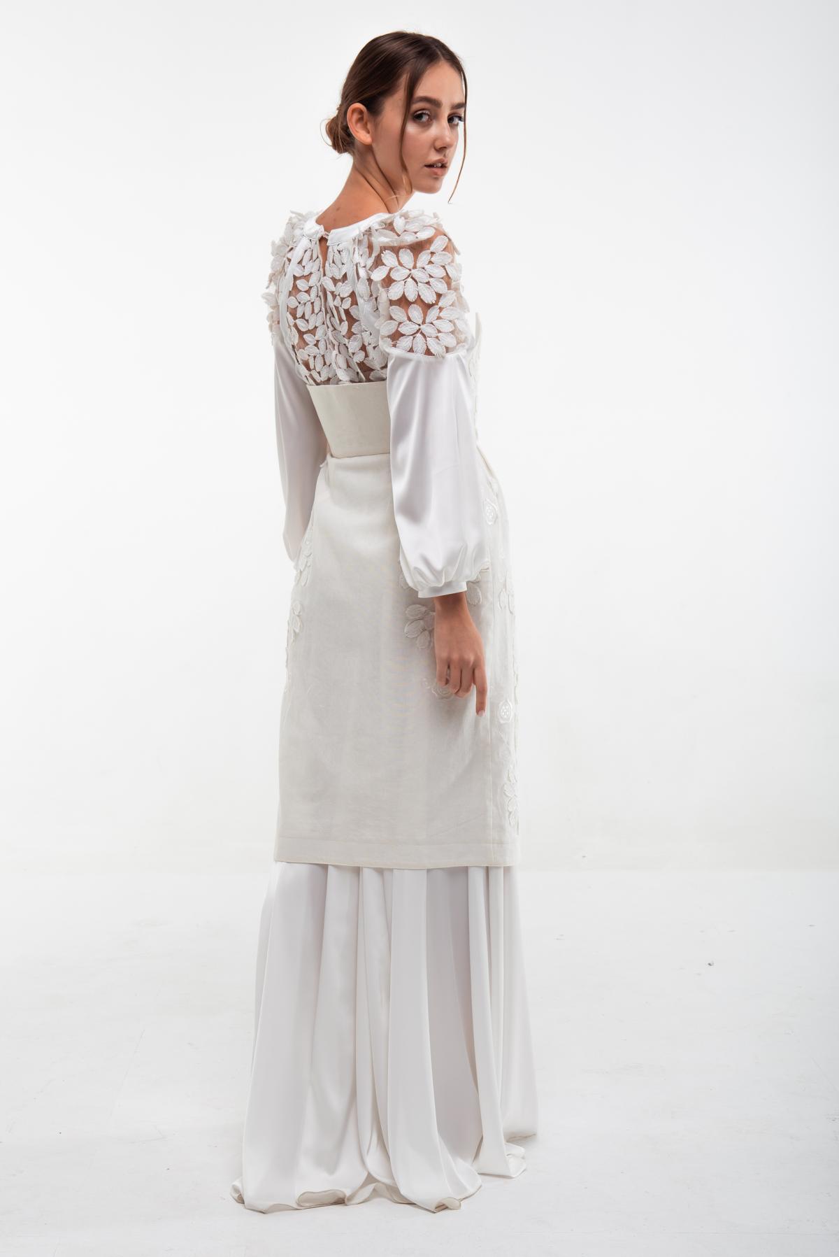 Вышитое белое платье Невеста. Фото №2. | Народный дом Украина
