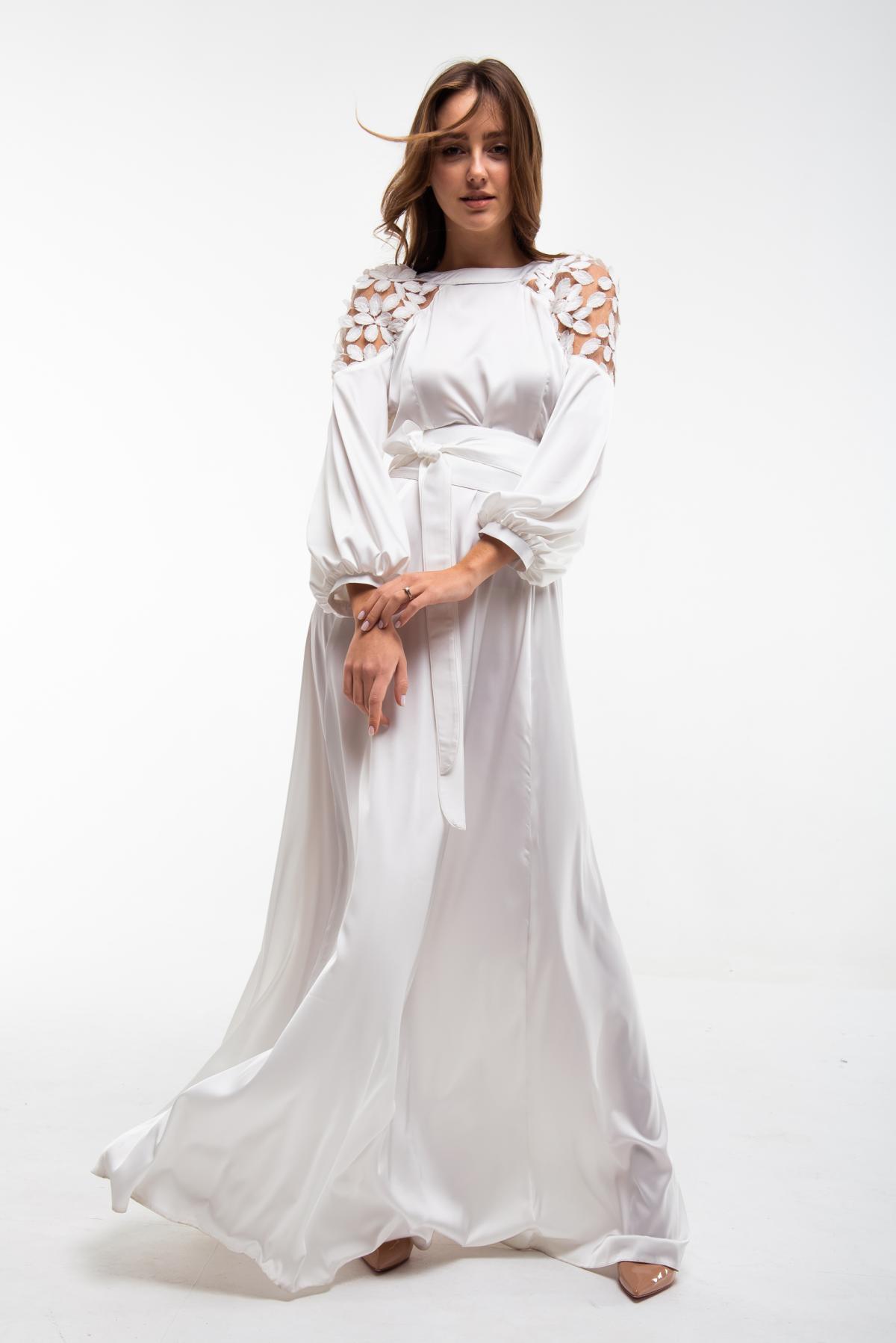Вышитое белое платье Невеста. Фото №1. | Народный дом Украина