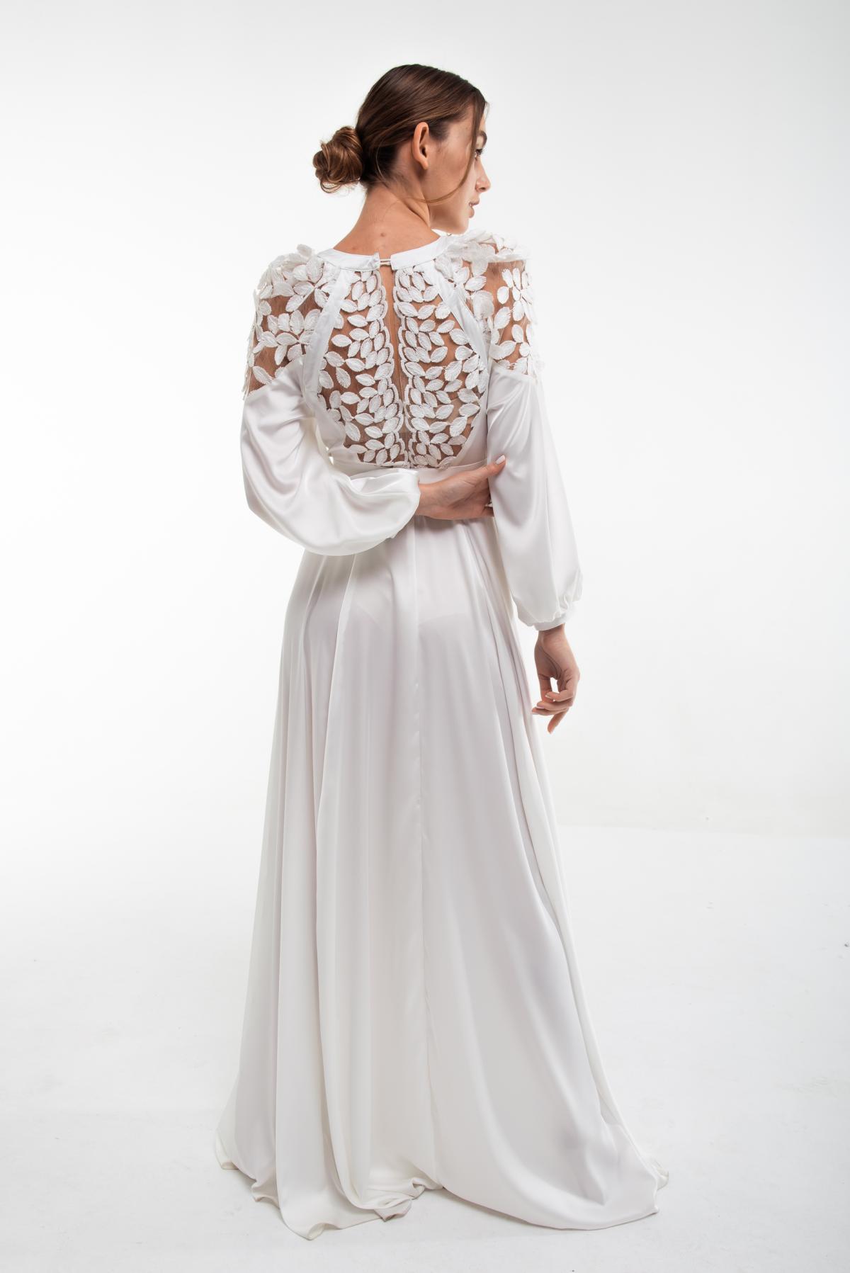 Вышитое белое платье Невеста. Фото №4. | Народный дом Украина