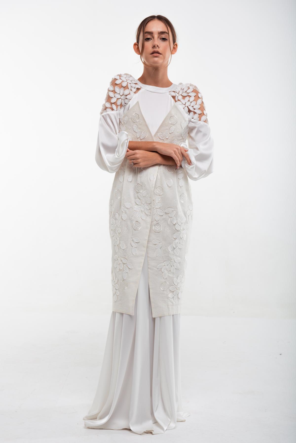 Вышитое белое платье Невеста. Фото №5. | Народный дом Украина