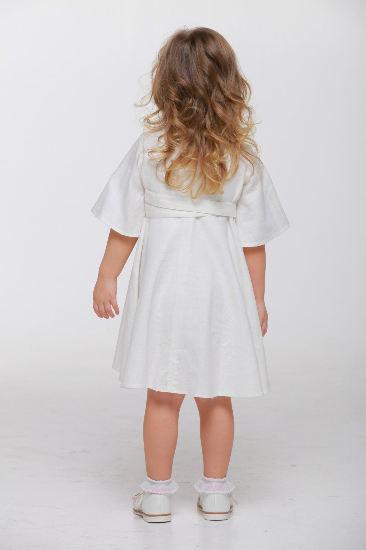 Дитяча вишита сукня біла. Фото №2. | Народний дім Україна