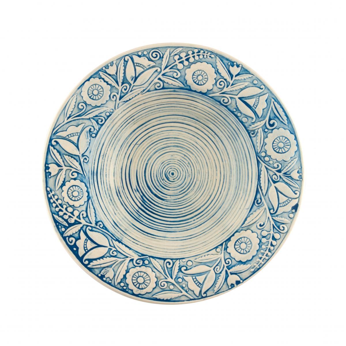 Супова тарілка – 350 мл, Небесно-блакитний колір. Фото №2. | Народний дім Україна