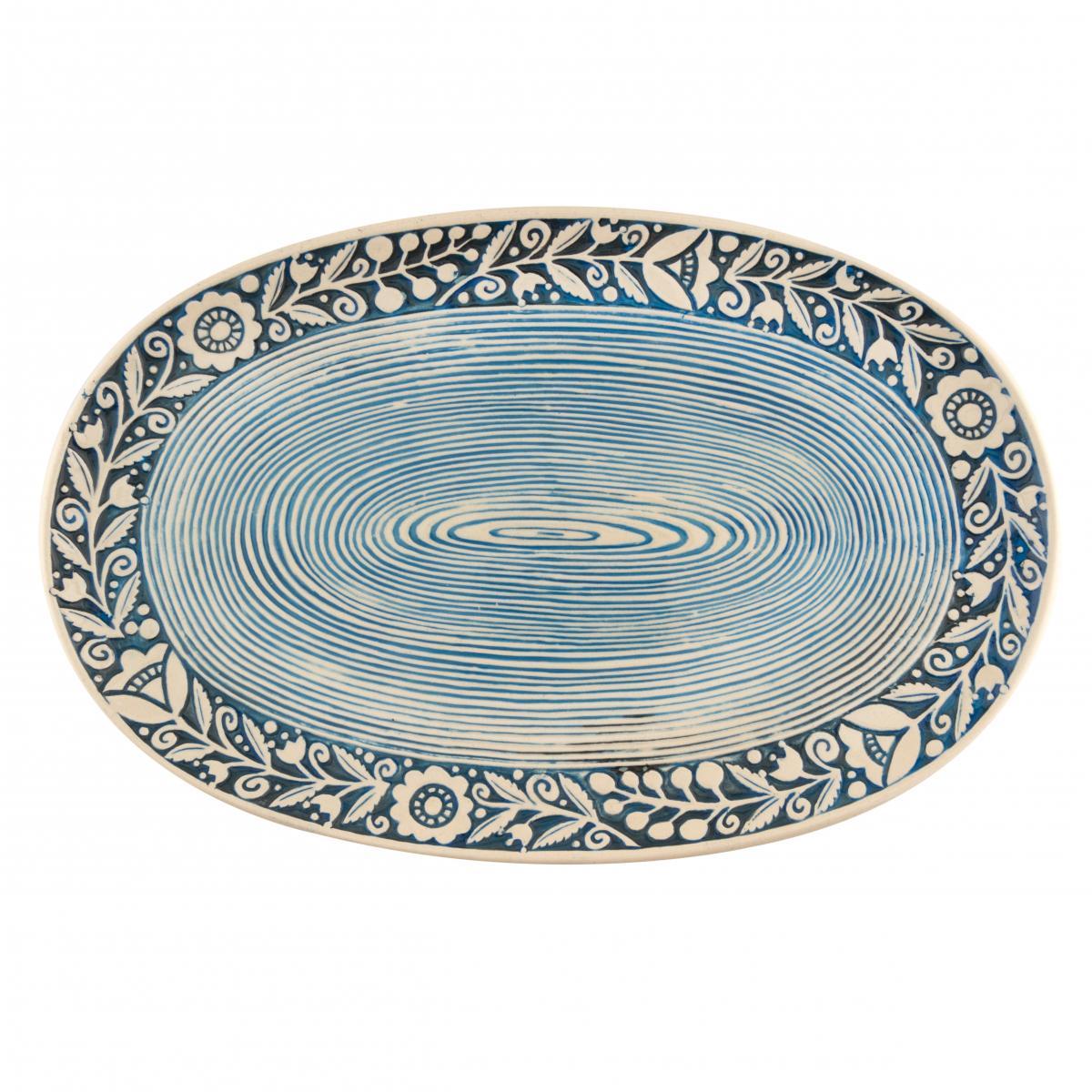 Oval plate. Photo №3. | Narodnyi dim Ukraine