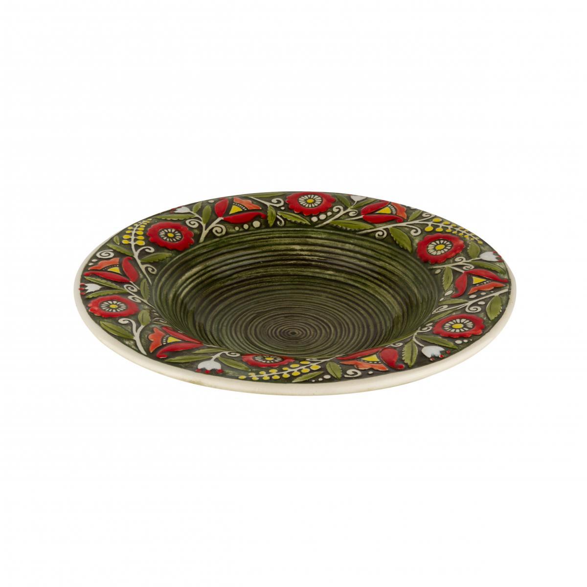 Супова тарілка зелена – 350 мл. Фото №2. | Народний дім Україна