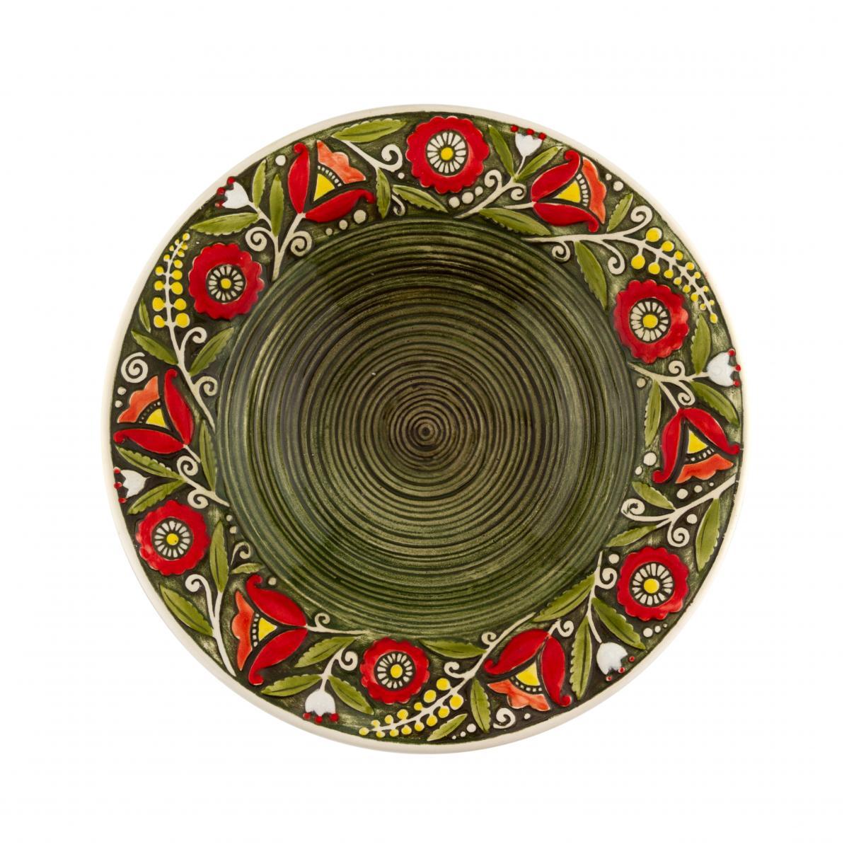 Супова тарілка зелена – 350 мл. Фото №1. | Народний дім Україна