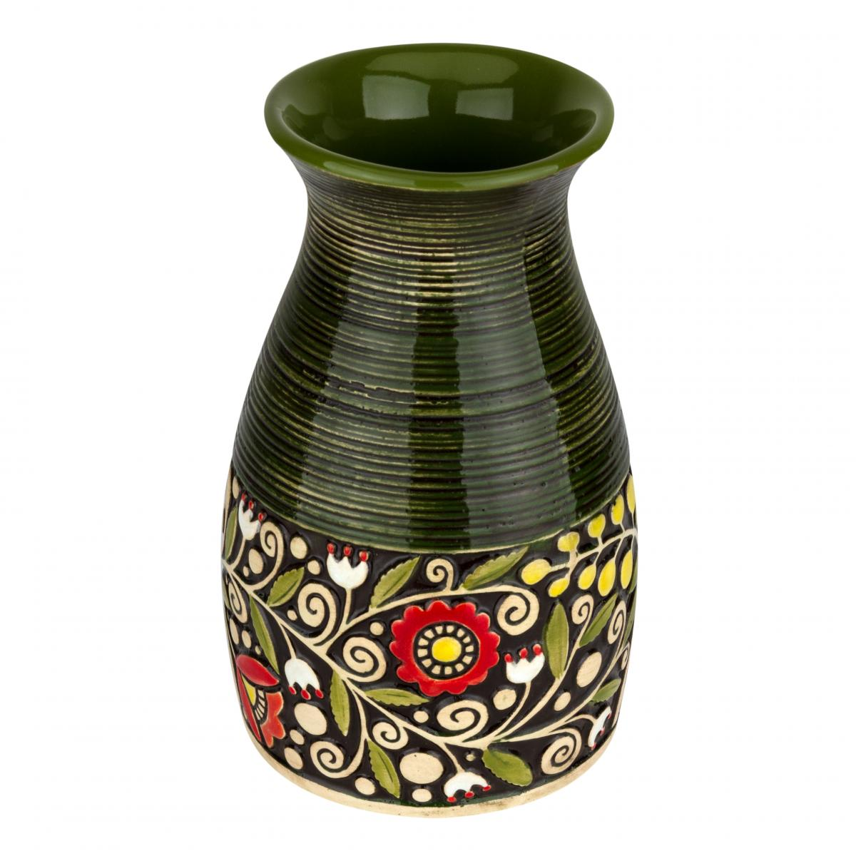 Green vase. Photo №1. | Narodnyi dim Ukraine