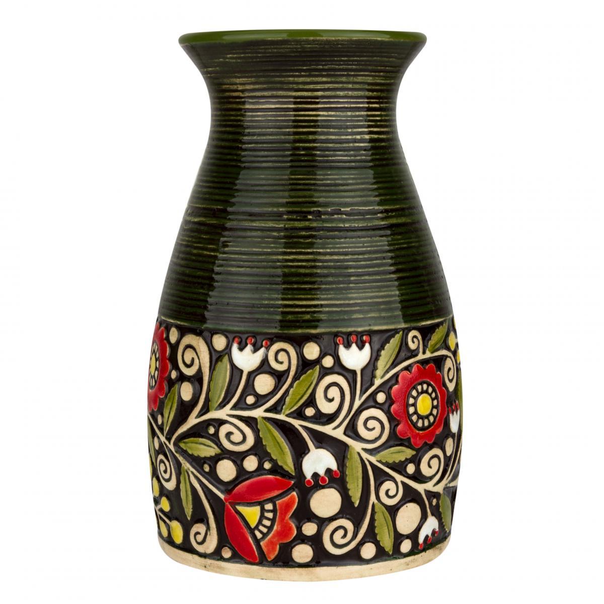 Green vase. Photo №2. | Narodnyi dim Ukraine