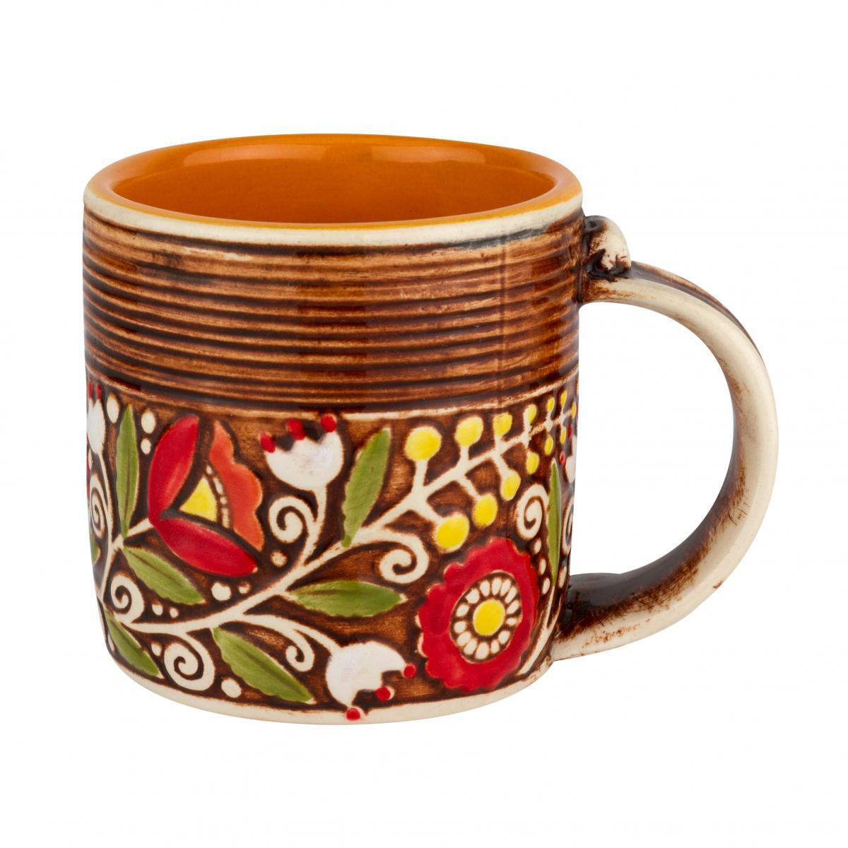Чашка оранжевая - 400 мл. Фото №1. | Народный дом Украина