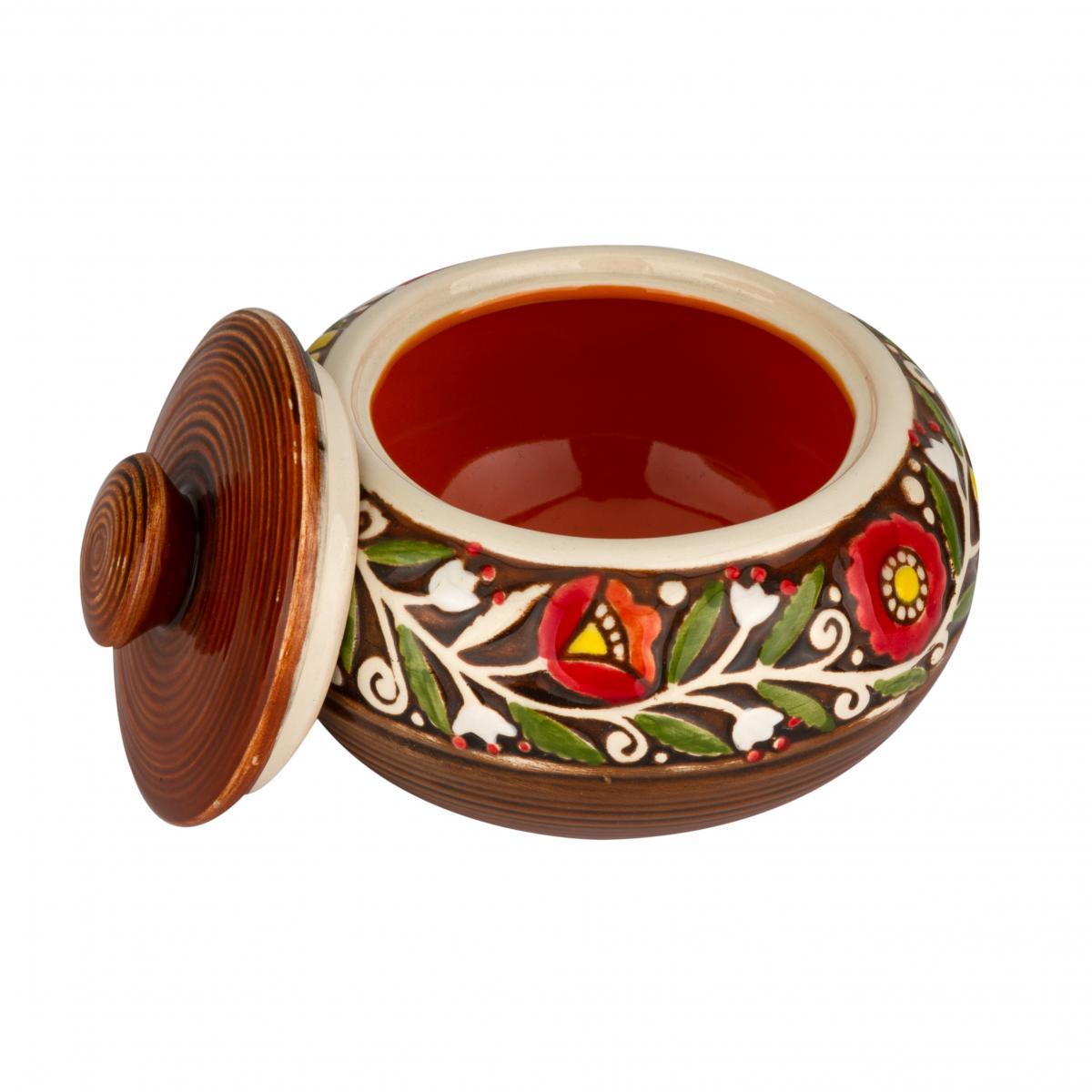 Orange sugar bowl. Photo №2. | Narodnyi dim Ukraine