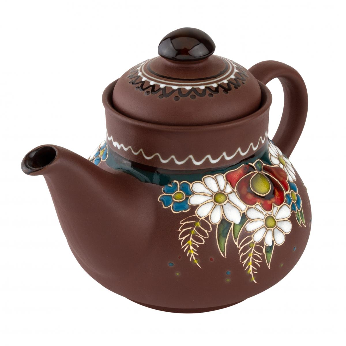 Ceramic teapot in ethno-style. Photo №2. | Narodnyi dim Ukraine