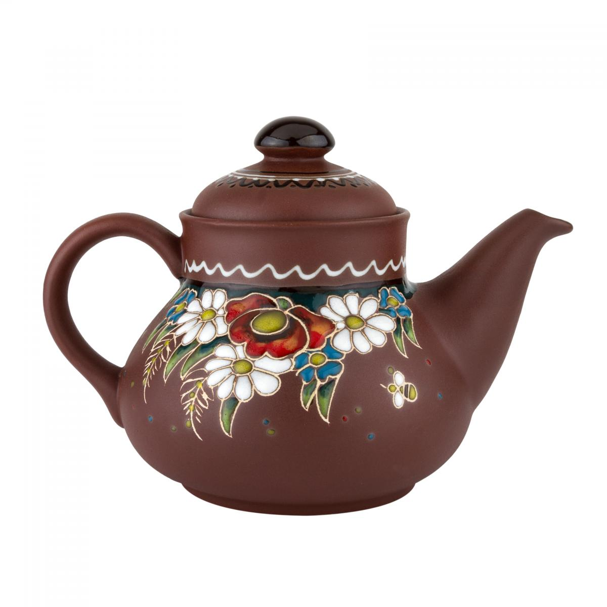 Ceramic teapot in ethno-style. Photo №1. | Narodnyi dim Ukraine