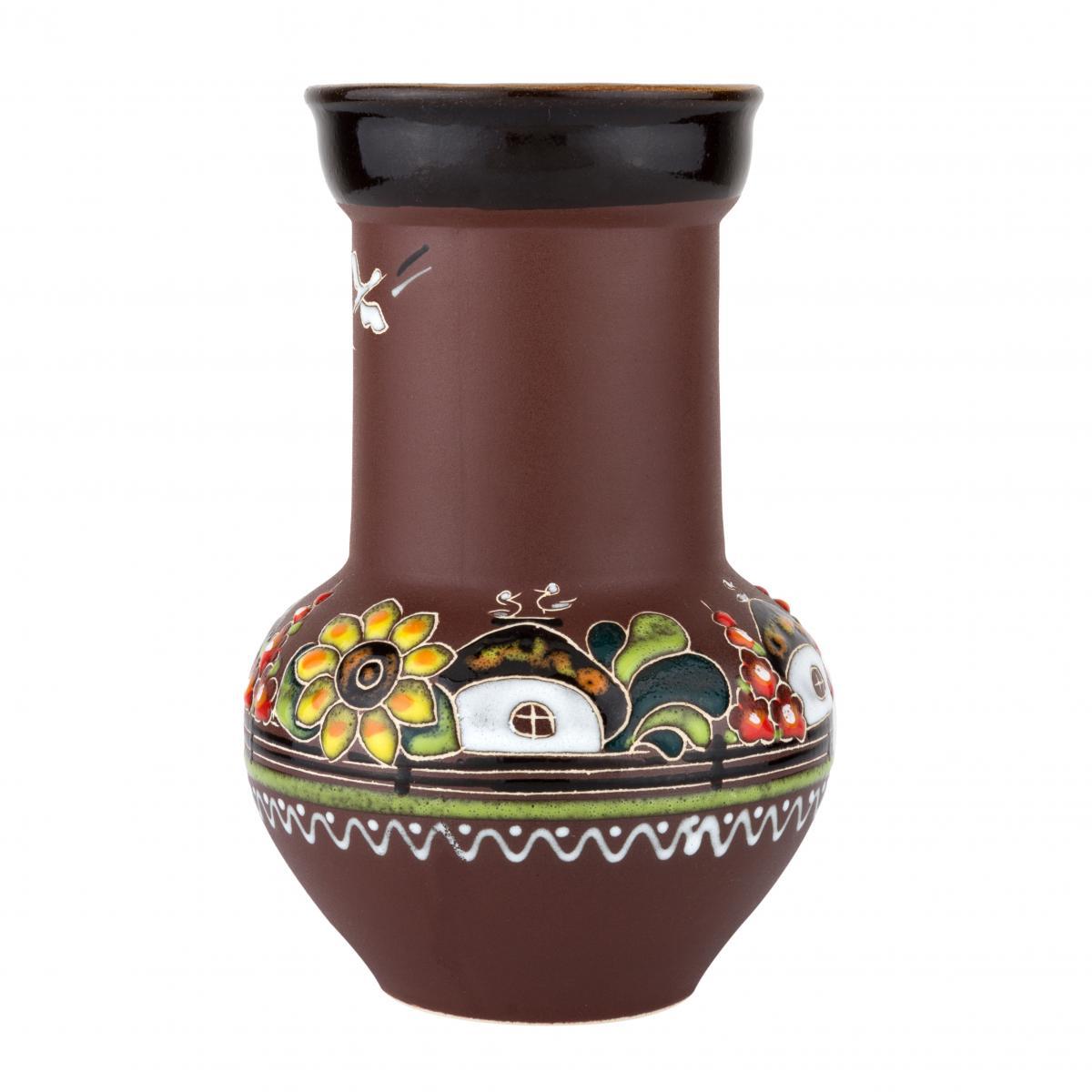 Vase with sunflowers – 1 liter. Photo №1. | Narodnyi dim Ukraine