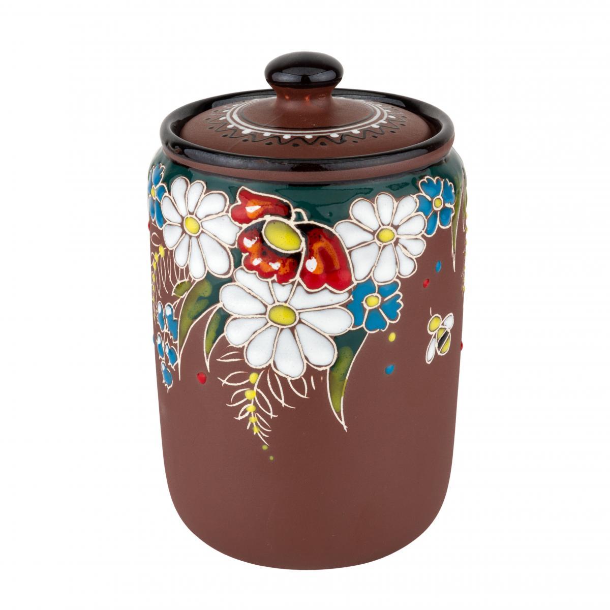 Ceramic receptacle for bulk materials. Photo №2. | Narodnyi dim Ukraine