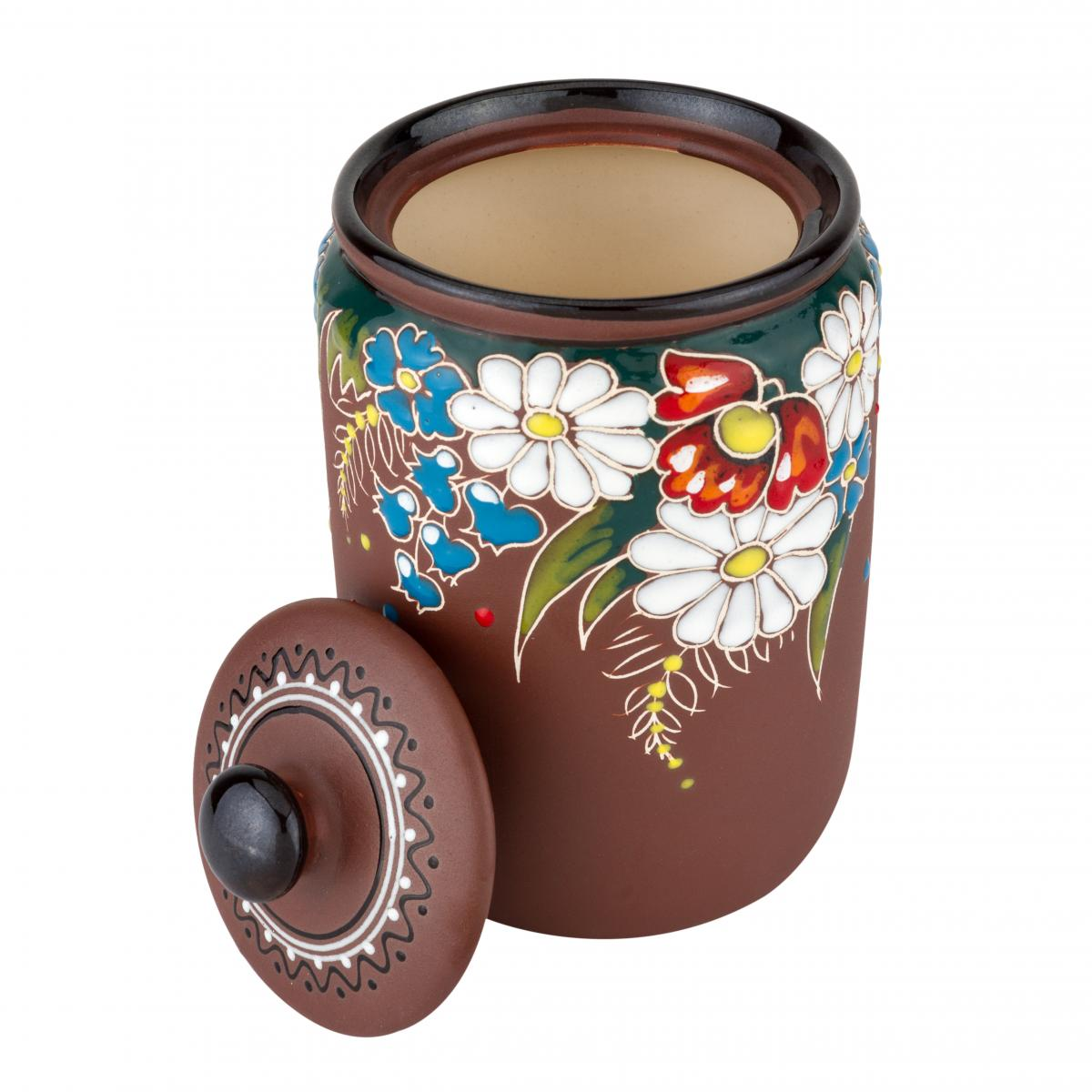 Ceramic receptacle for bulk materials. Photo №1. | Narodnyi dim Ukraine