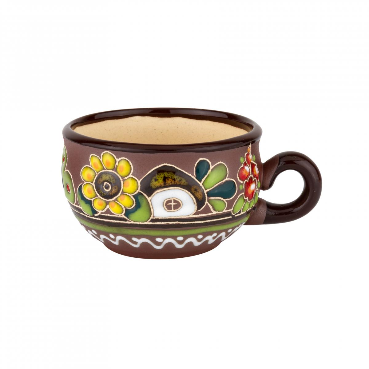 Чашка кофейная с подсолнухом – 120 мл. Фото №1. | Народный дом Украина