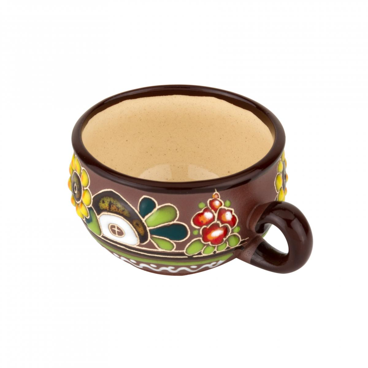 Чашка кавова з соняхом – 120 мл. Фото №2. | Народний дім Україна