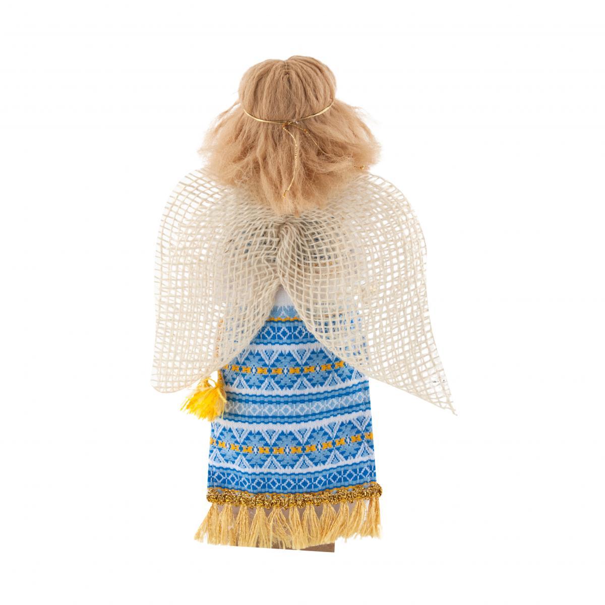 Мотанка Ангел голубой. Фото №2.   Народный дом Украина